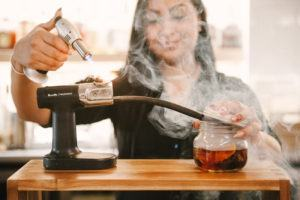 Smoked Old Fashion Cocktail